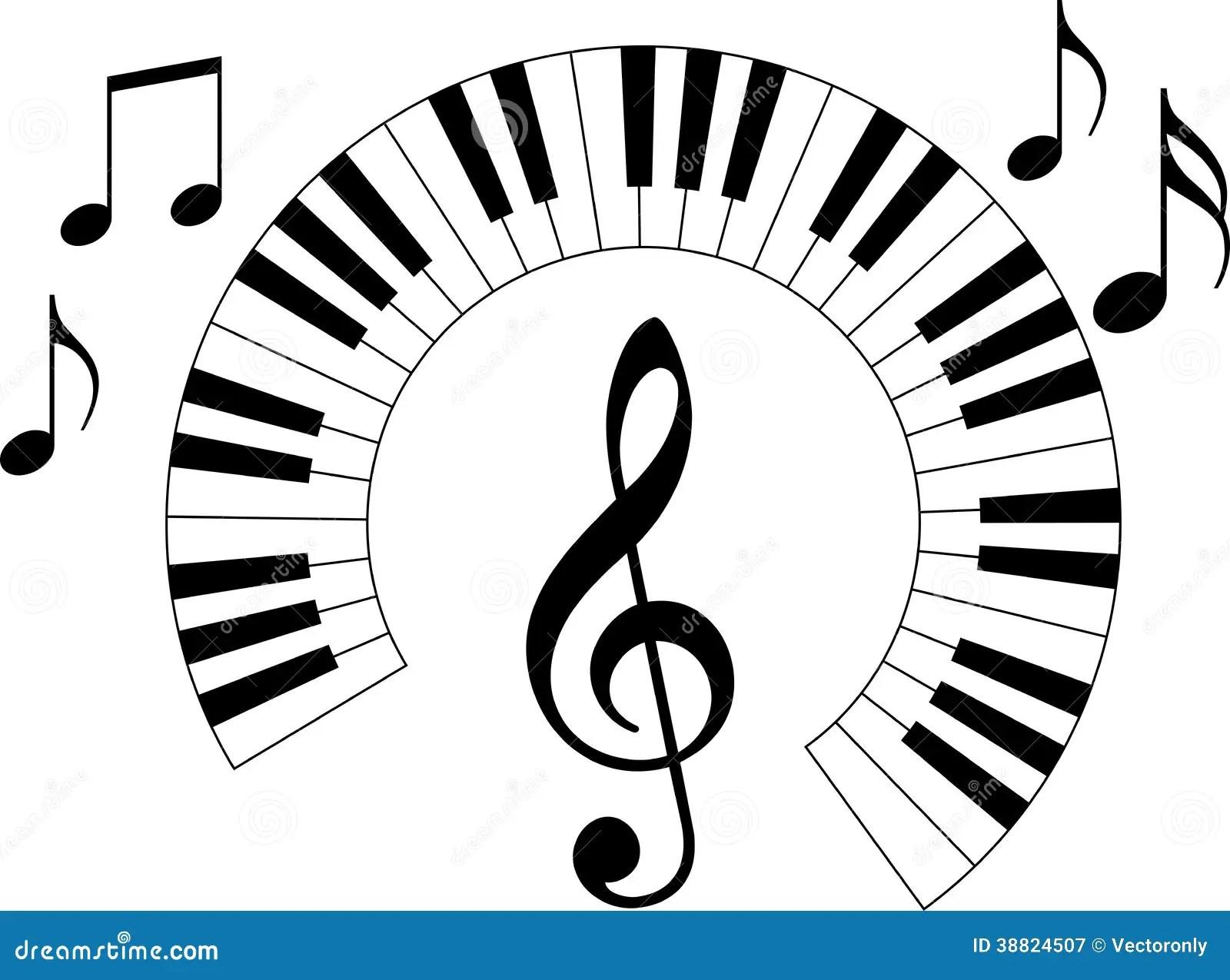 Piano Keyboard Stock Vector Illustration Of Melody