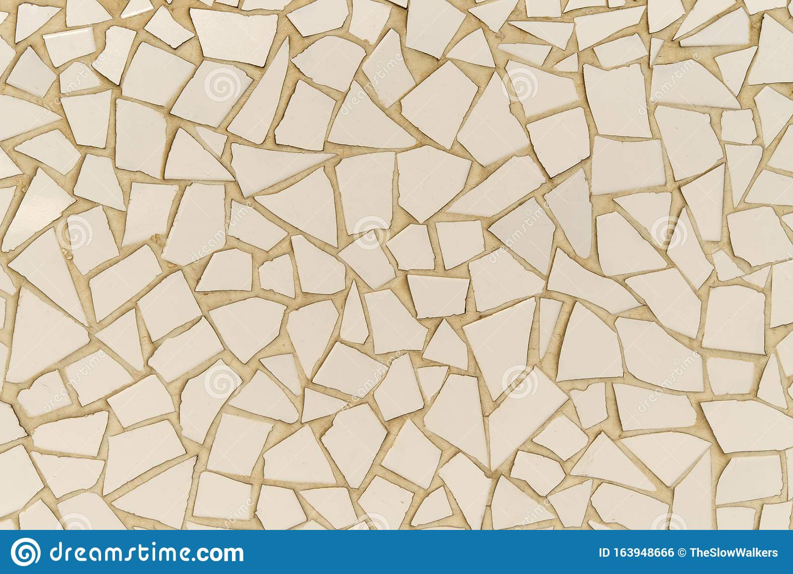 https www dreamstime com pieces ceramic tiles randomly set mortar abstract design plain mosaic pieces abstract background image163948666