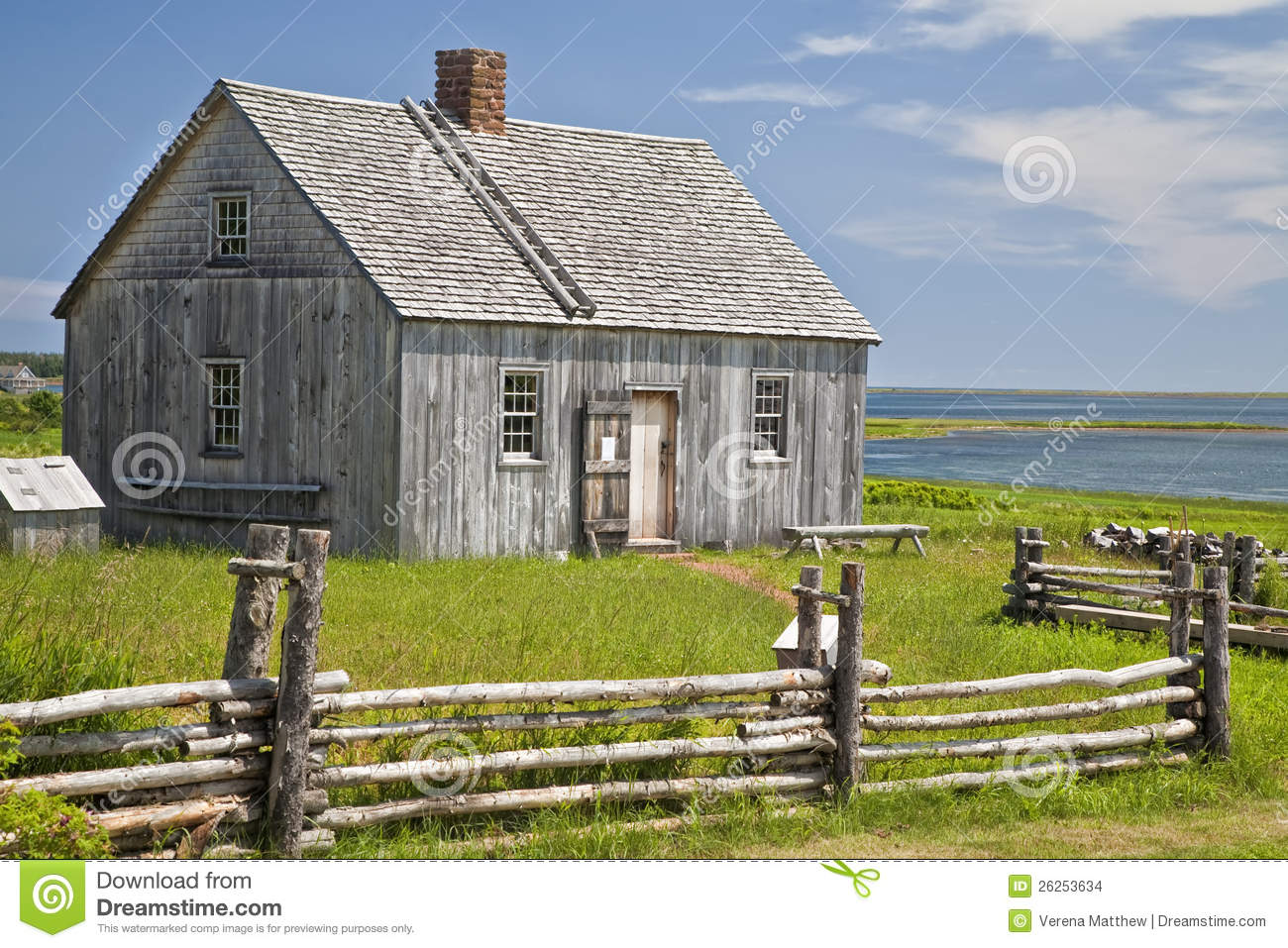 Pioneer House Stock Images Image 26253634