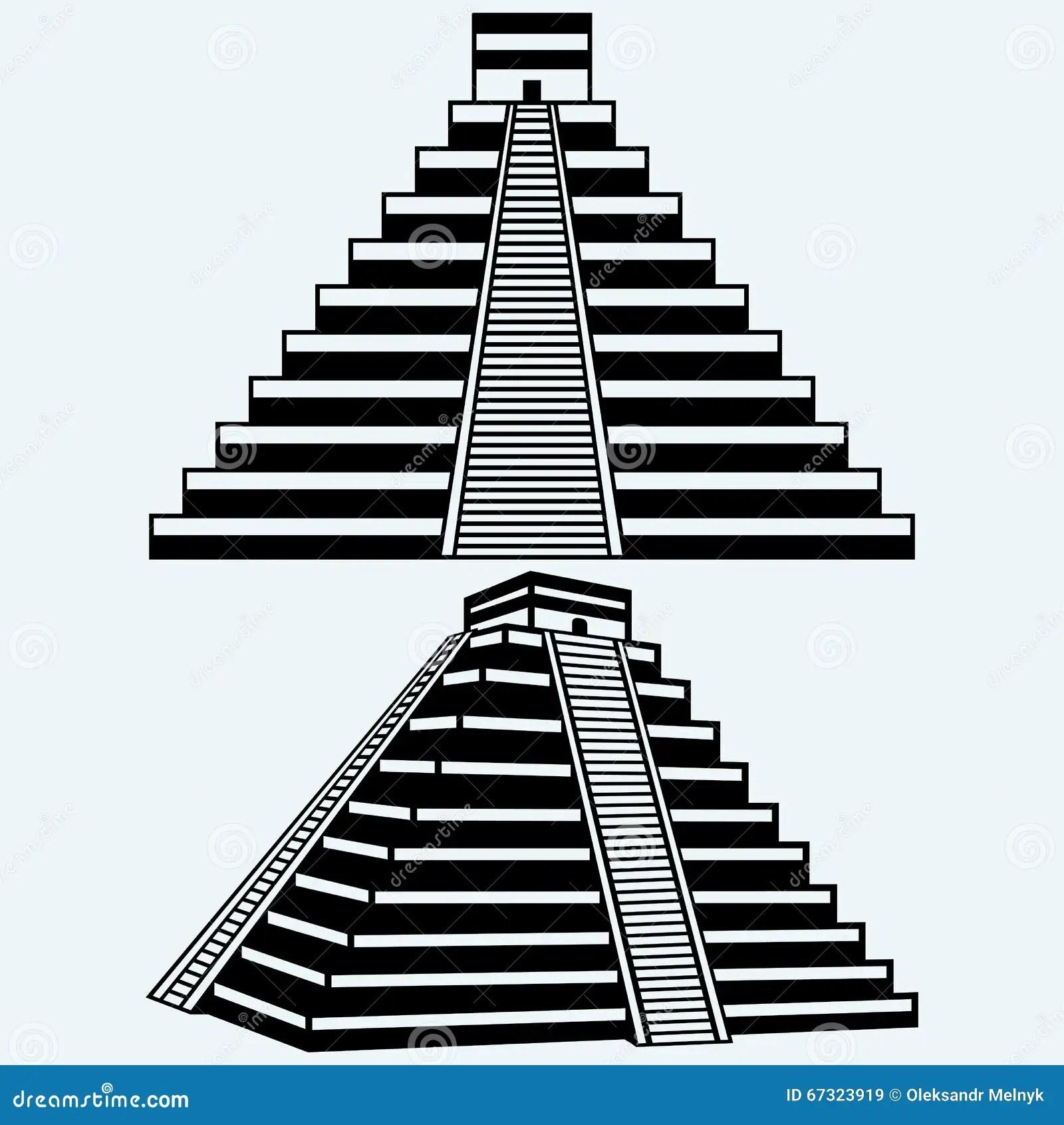 Piramides Aztecas Dibujos Wwwtopsimagescom