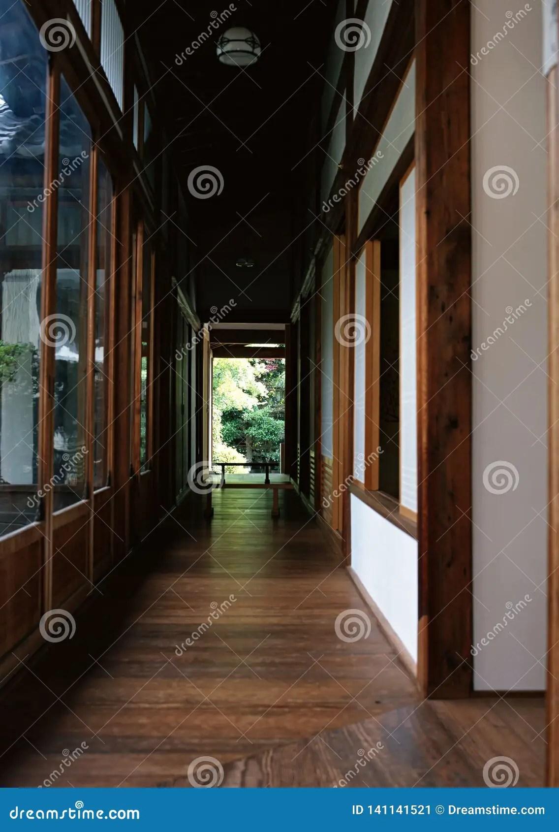 plancher en bois de maison japonaise