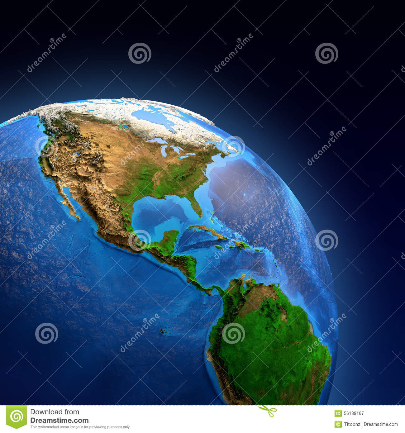Planet Earth Landforms Stock Image Image Of Face