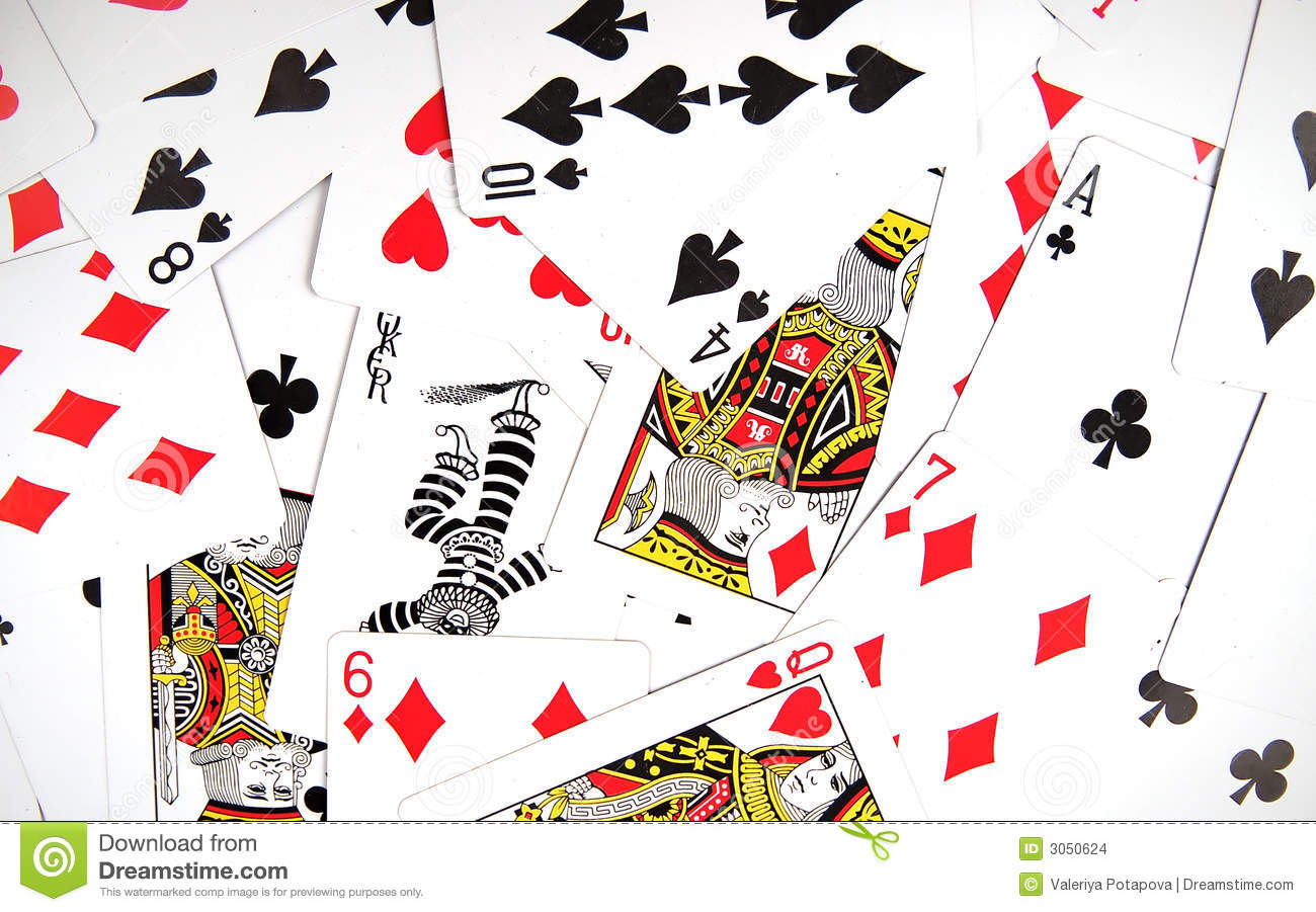 Playing Cards Texture Stock Photo Image Of Fortune Jack