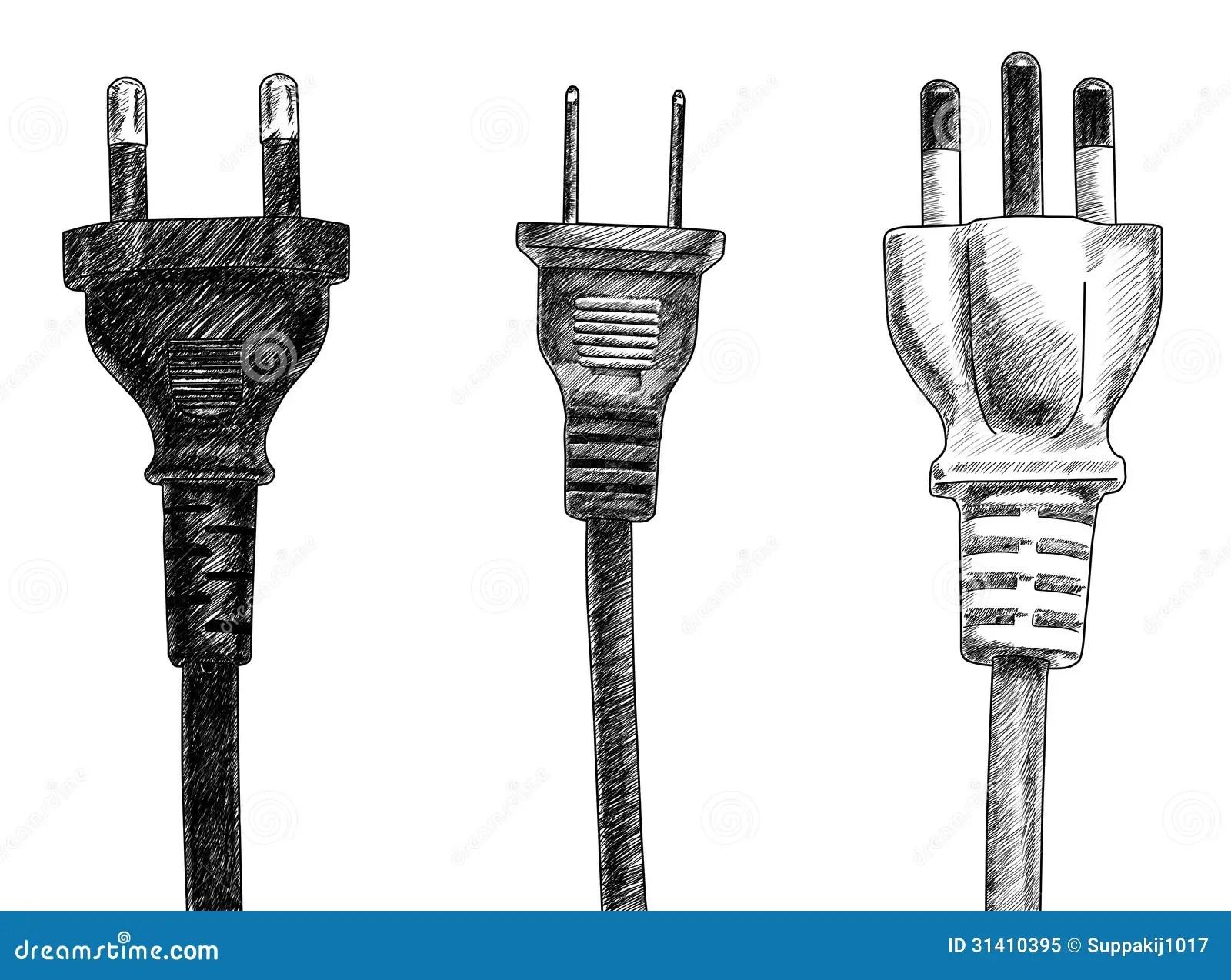 Plugs Stock Illustration Illustration Of Object