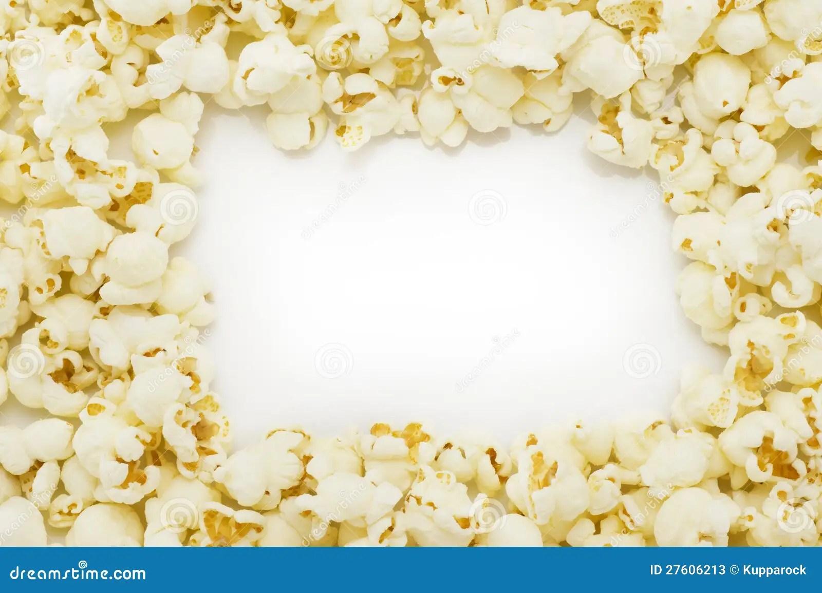 Popcorn Border Clip Art