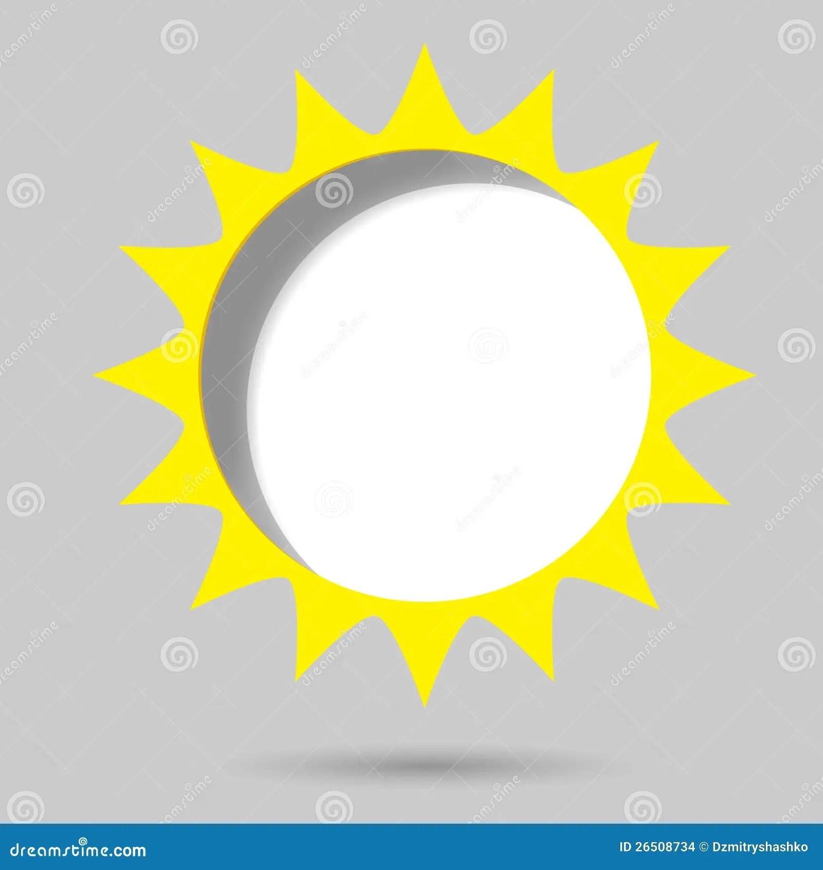 Poster Template Sun Stock Vector Illustration Of Design
