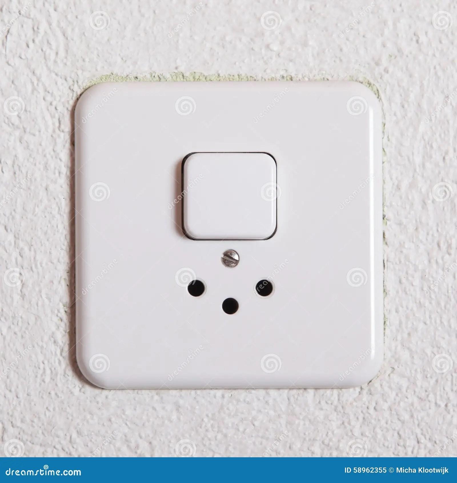Power Plug Wall Socket