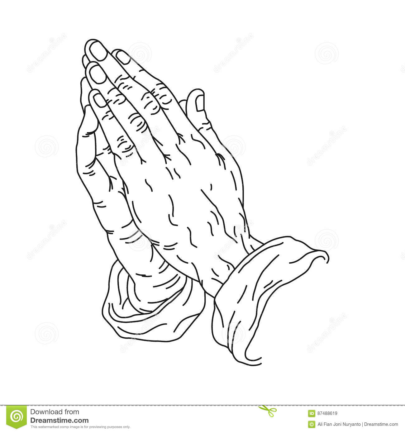Praying Cartoons Illustrations Amp Vector Stock Images