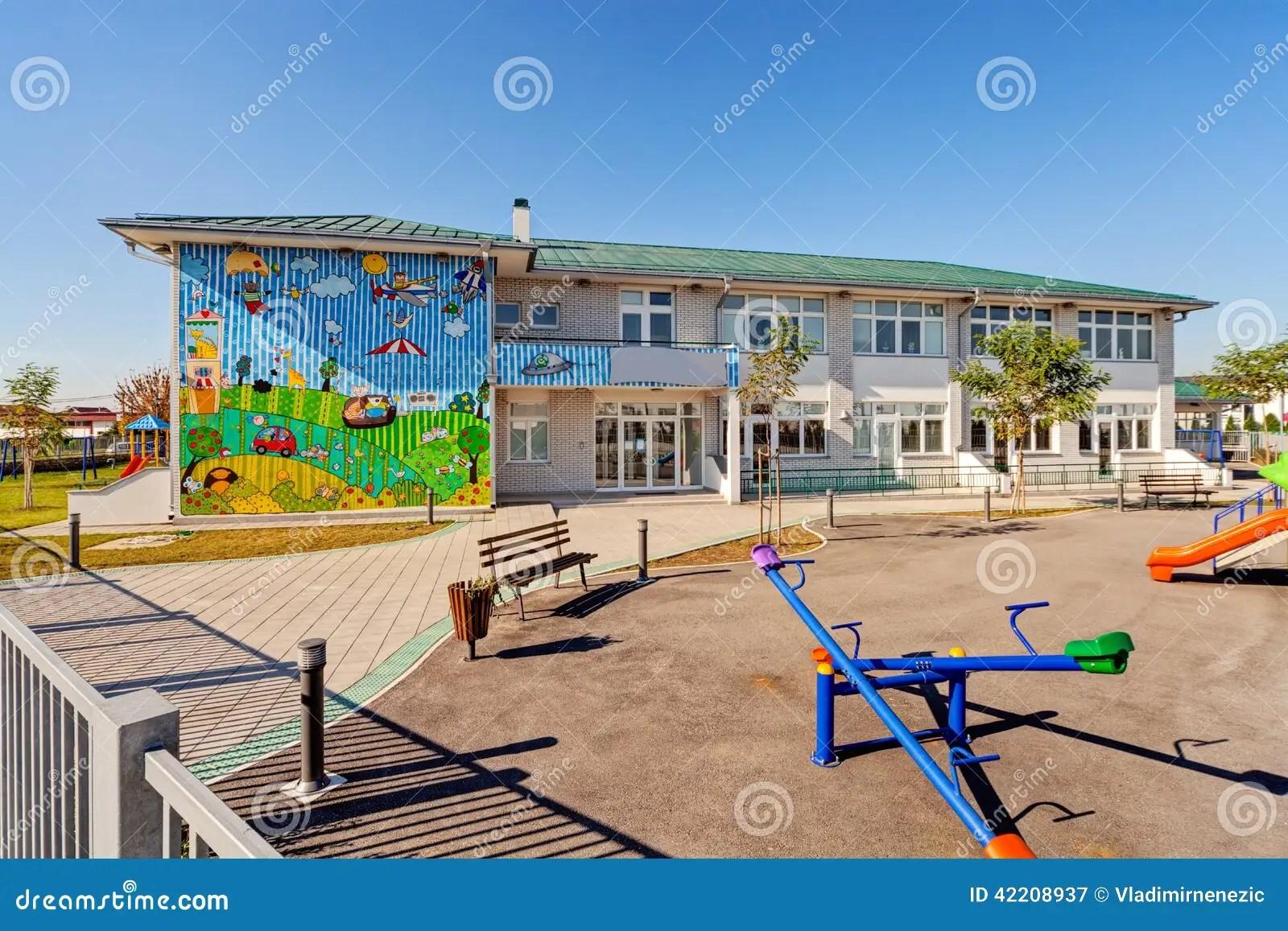 Preschool Building Editorial Photography Image Of