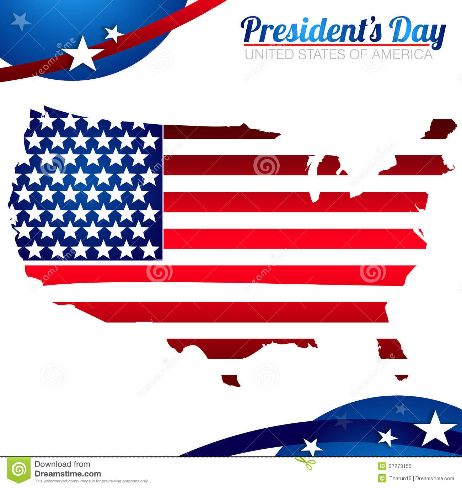 President Day Background Royalty Free Stock Photo