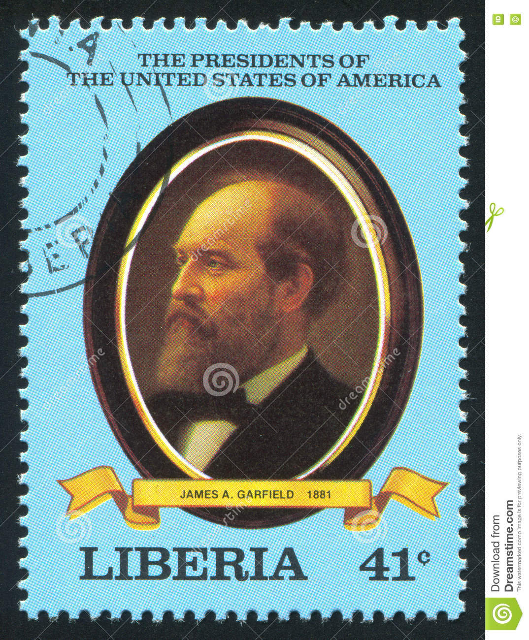 President Of The United States James A Garfield Editorial