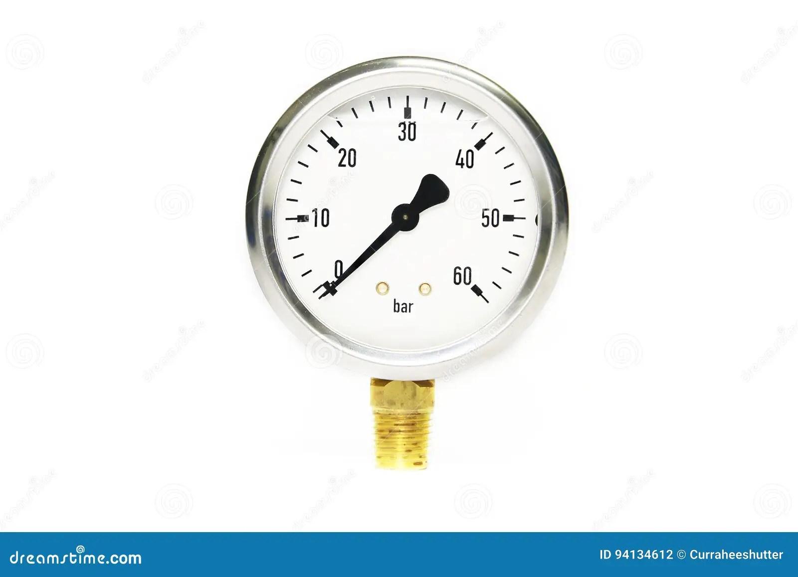 Pressure Gauge Using Measure The Pressure In Production