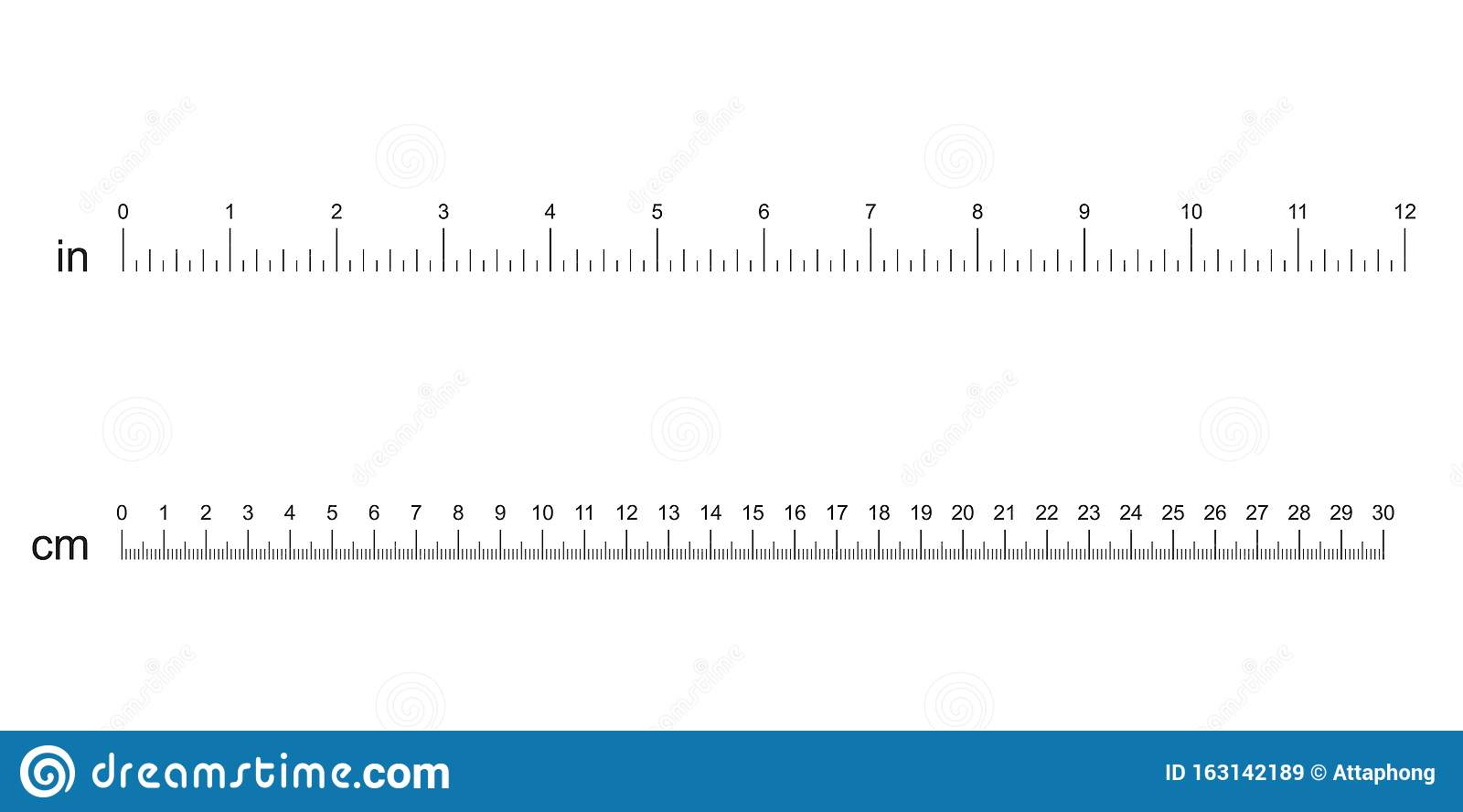 Rulers Inch And Metric Rulers Scale For A Ruler In Inches