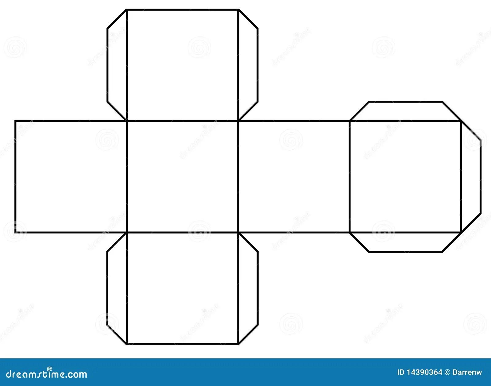 Print A Cube Stock Illustration Illustration Of