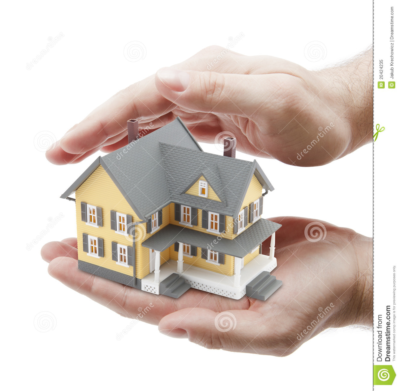 Protect Your House Stock Image Image Of House Covering