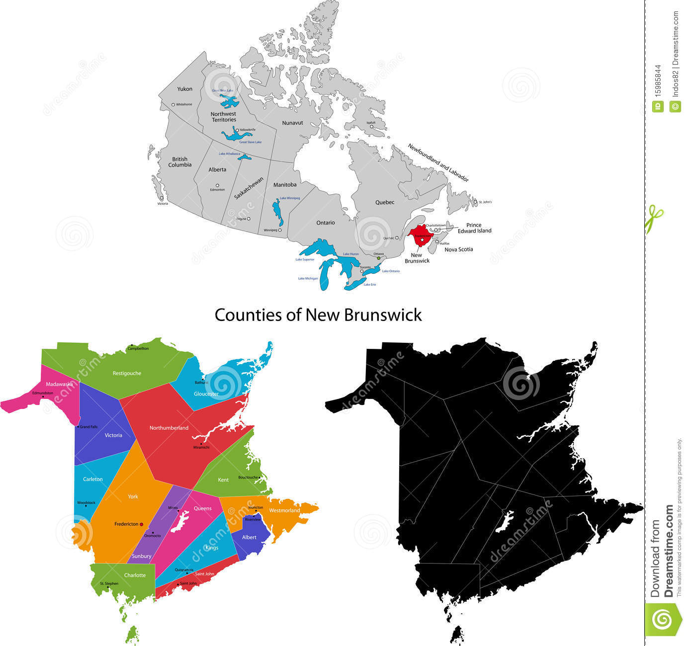 L County Boundary Map