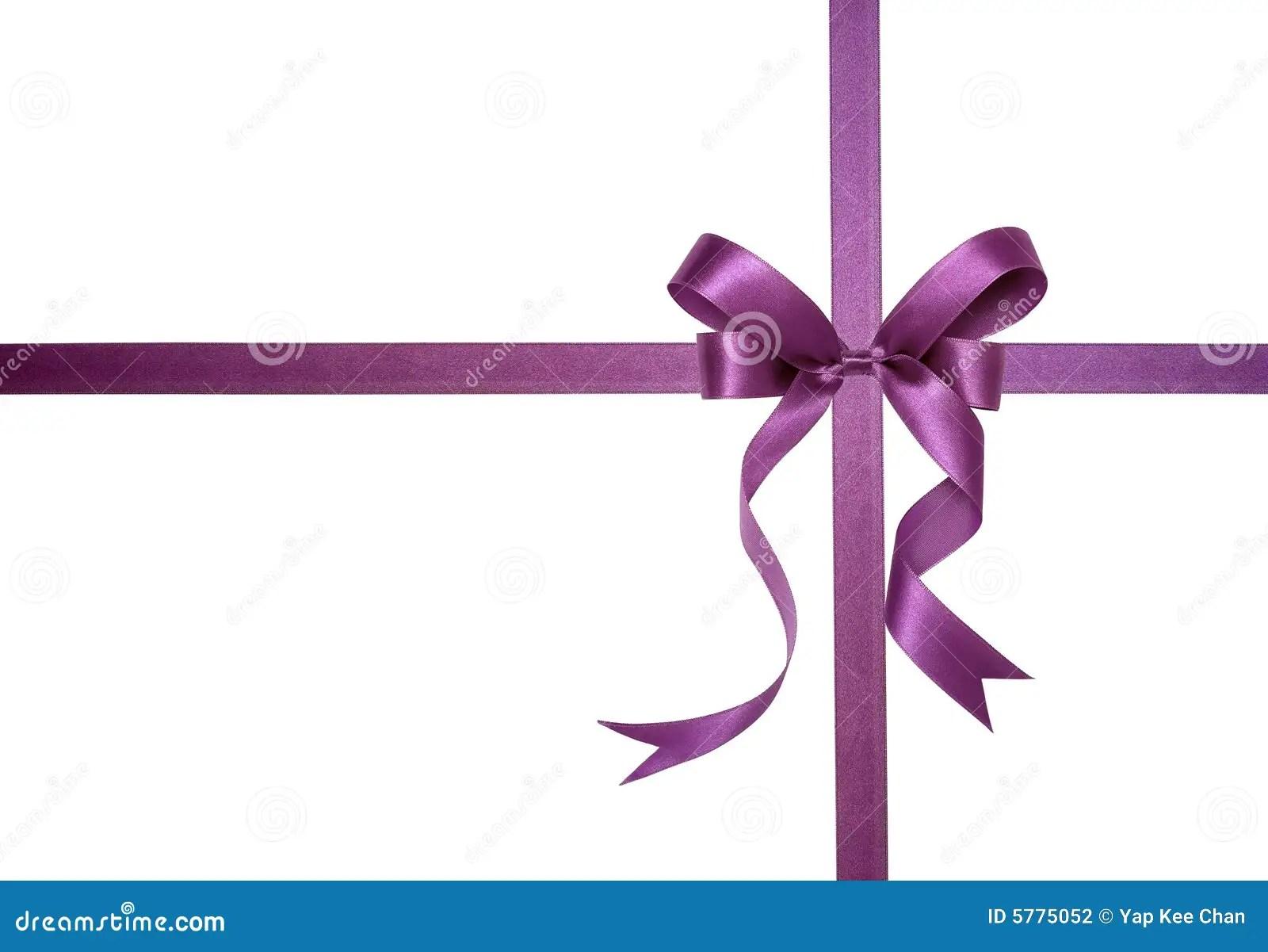 Purple Ribbon Stock Photo Image Of Isolated Shiny Sign