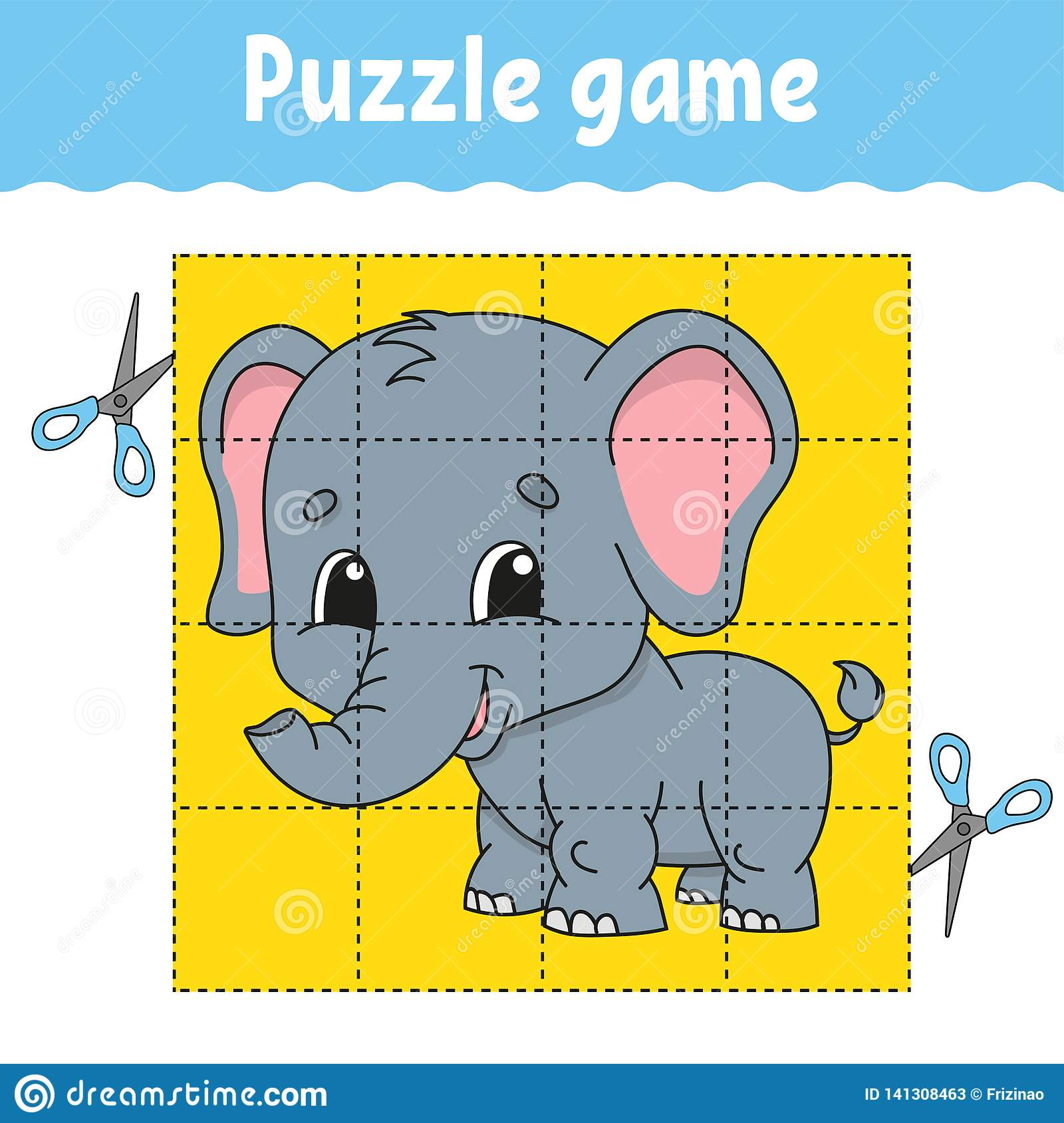 Puzzle Game For Kids Education Education Developing