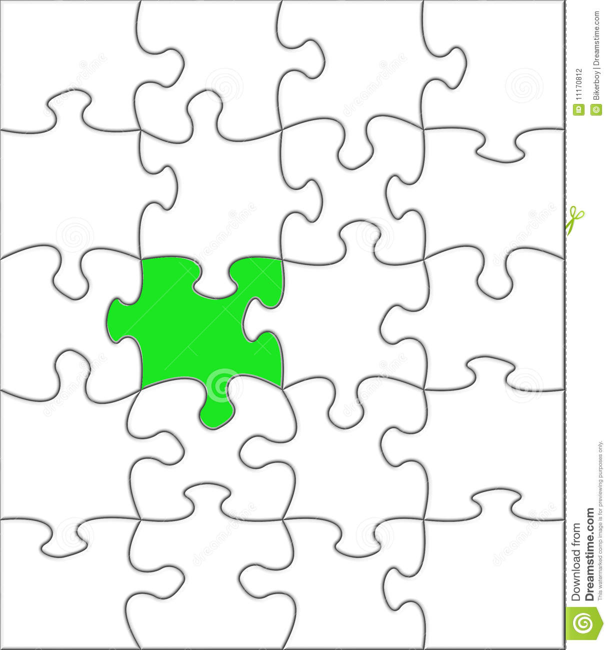 Puzzle One Different Stock Illustration Illustration Of Game