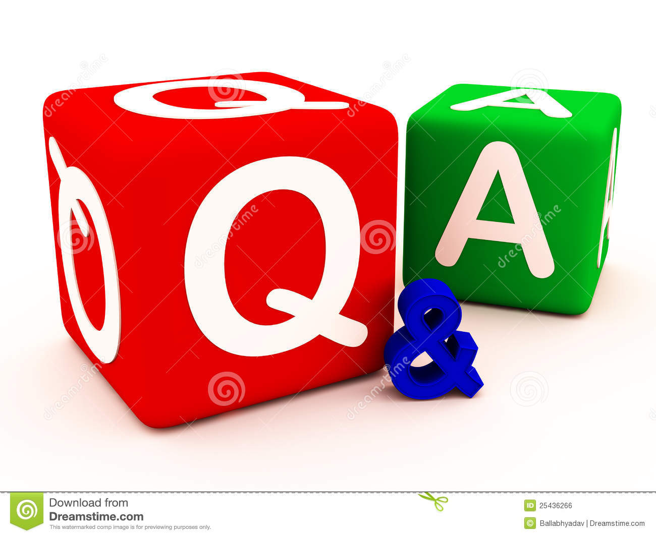 Q Amp A Questions Answers And Doubts Stock Illustration