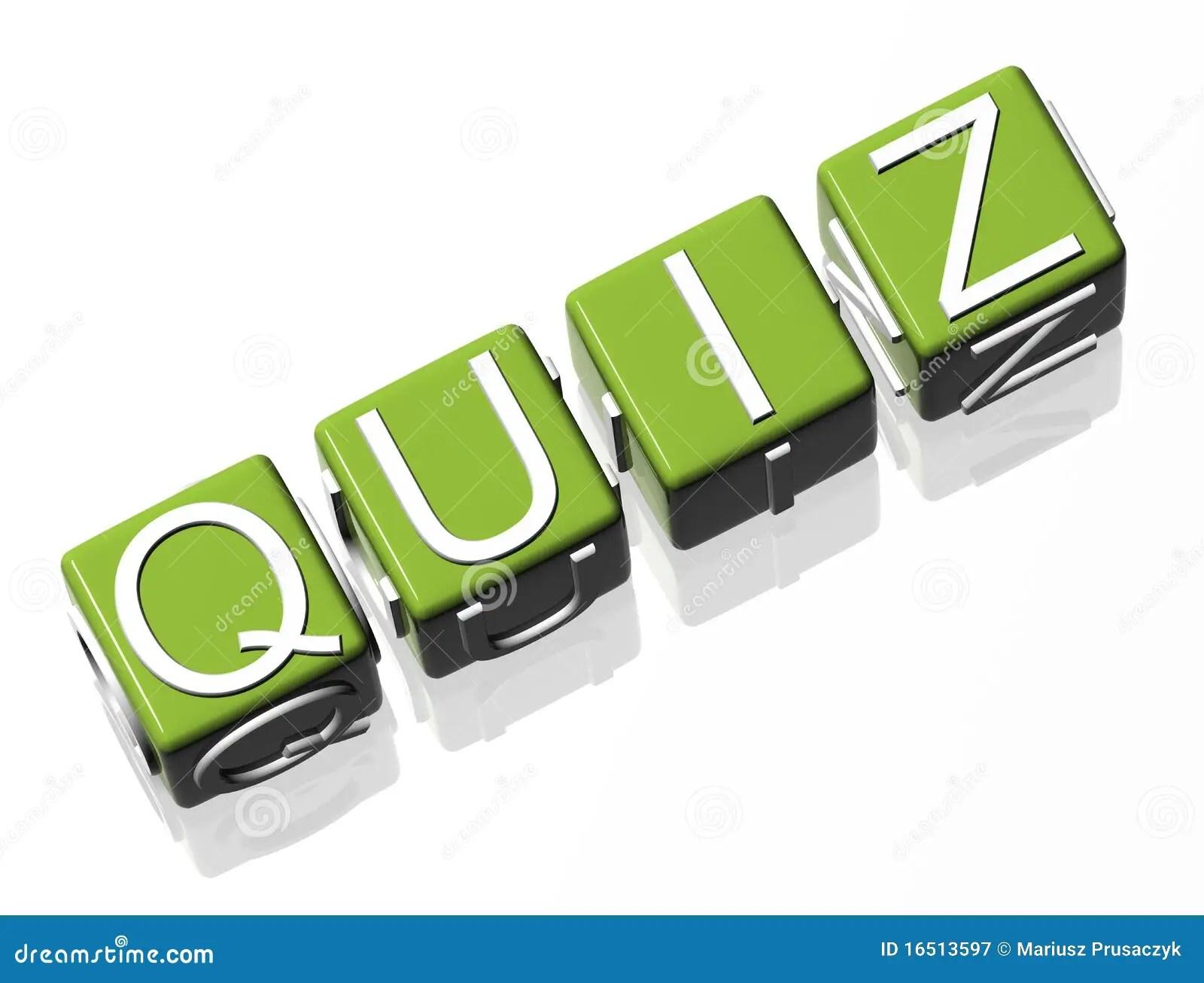 Quiz Royalty Free Stock Photography