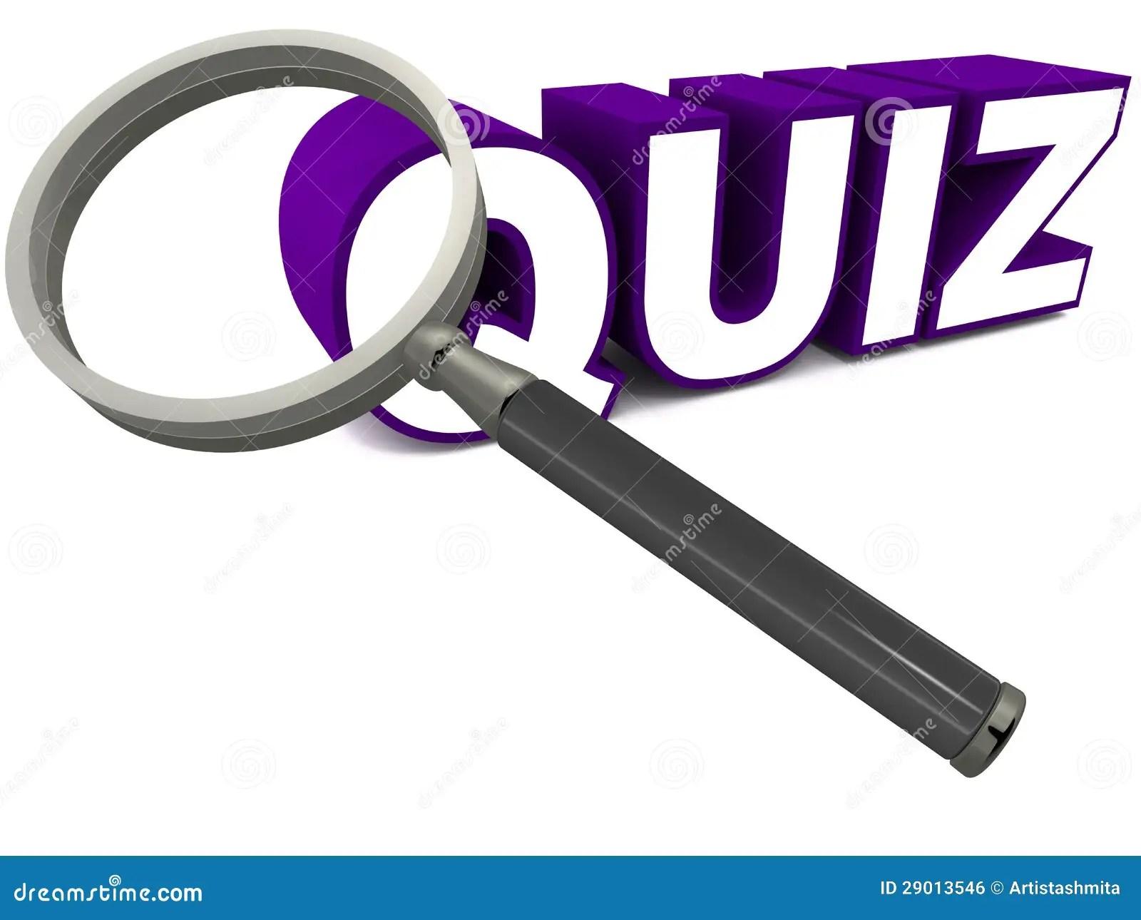 Quiz Stock Illustration Illustration Of Test Play Look