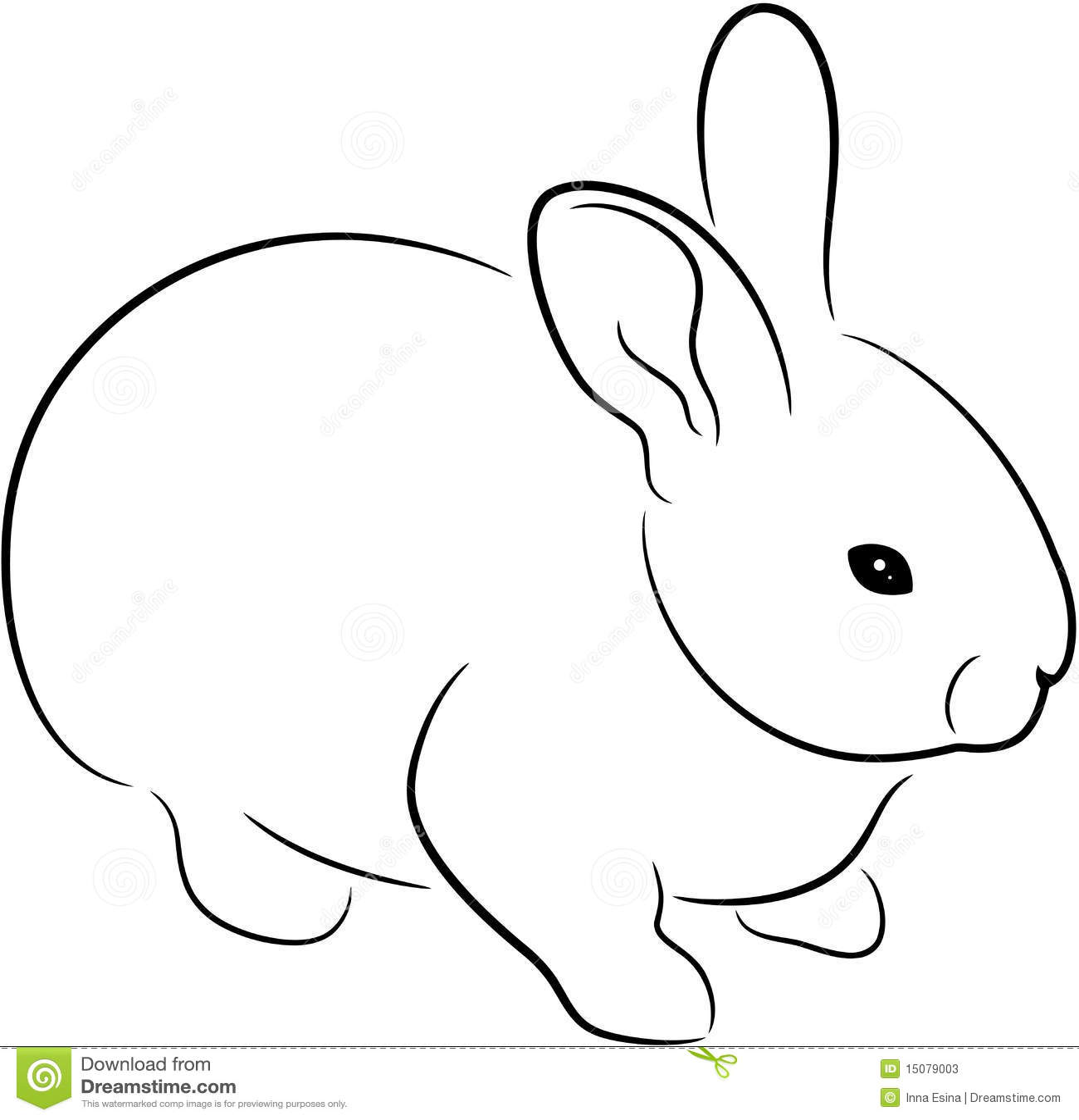 Rabbit Stock Vector Illustration Of Fuzzy Illustration