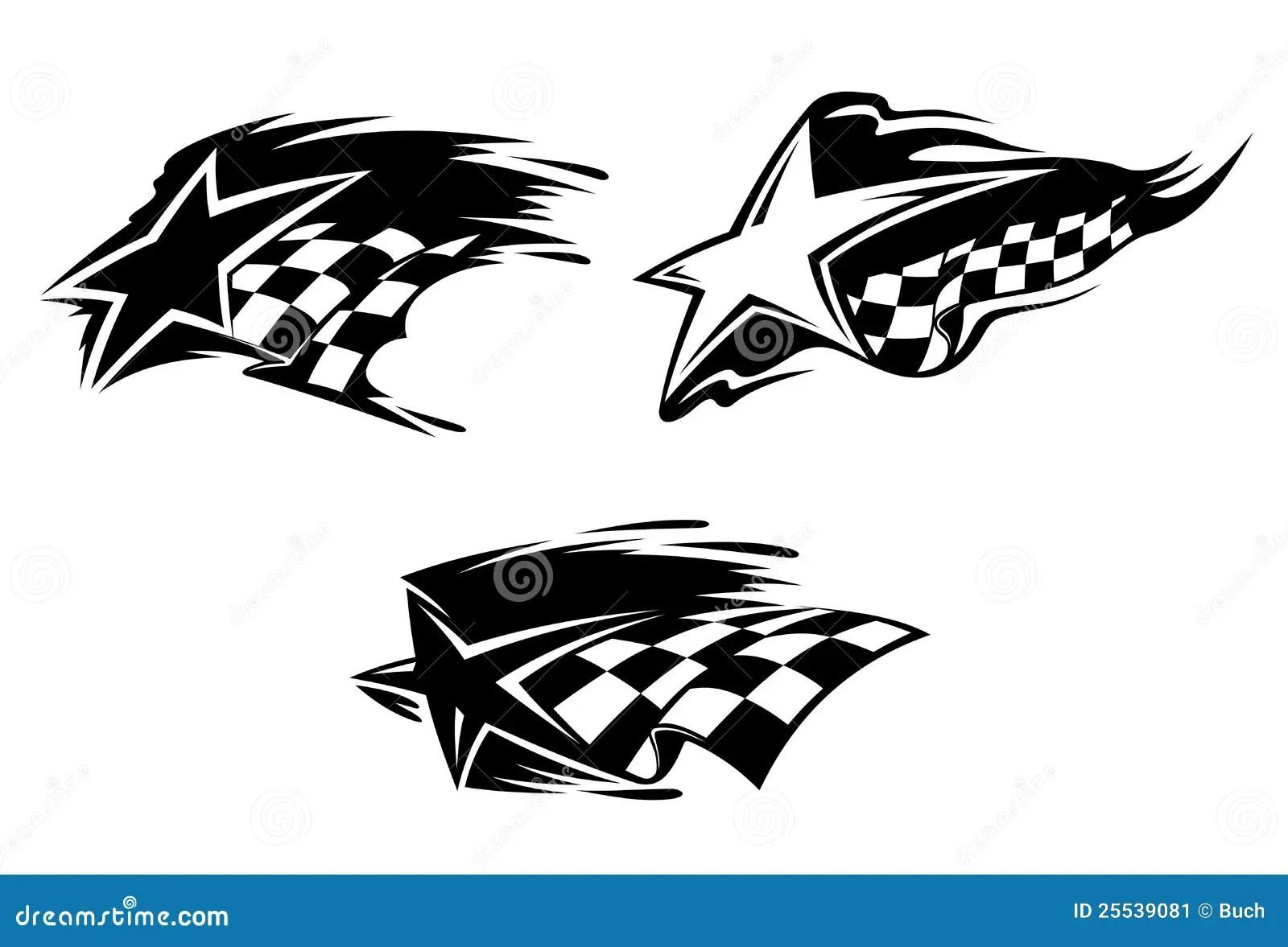 Racing Symbols Stock Vector Illustration Of Phantom