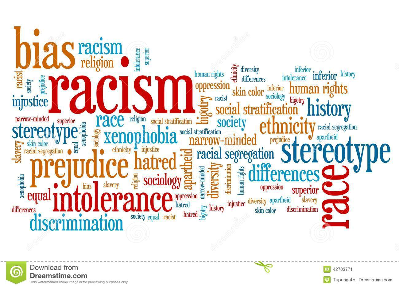 Racism Stock Illustration Illustration Of Nationality
