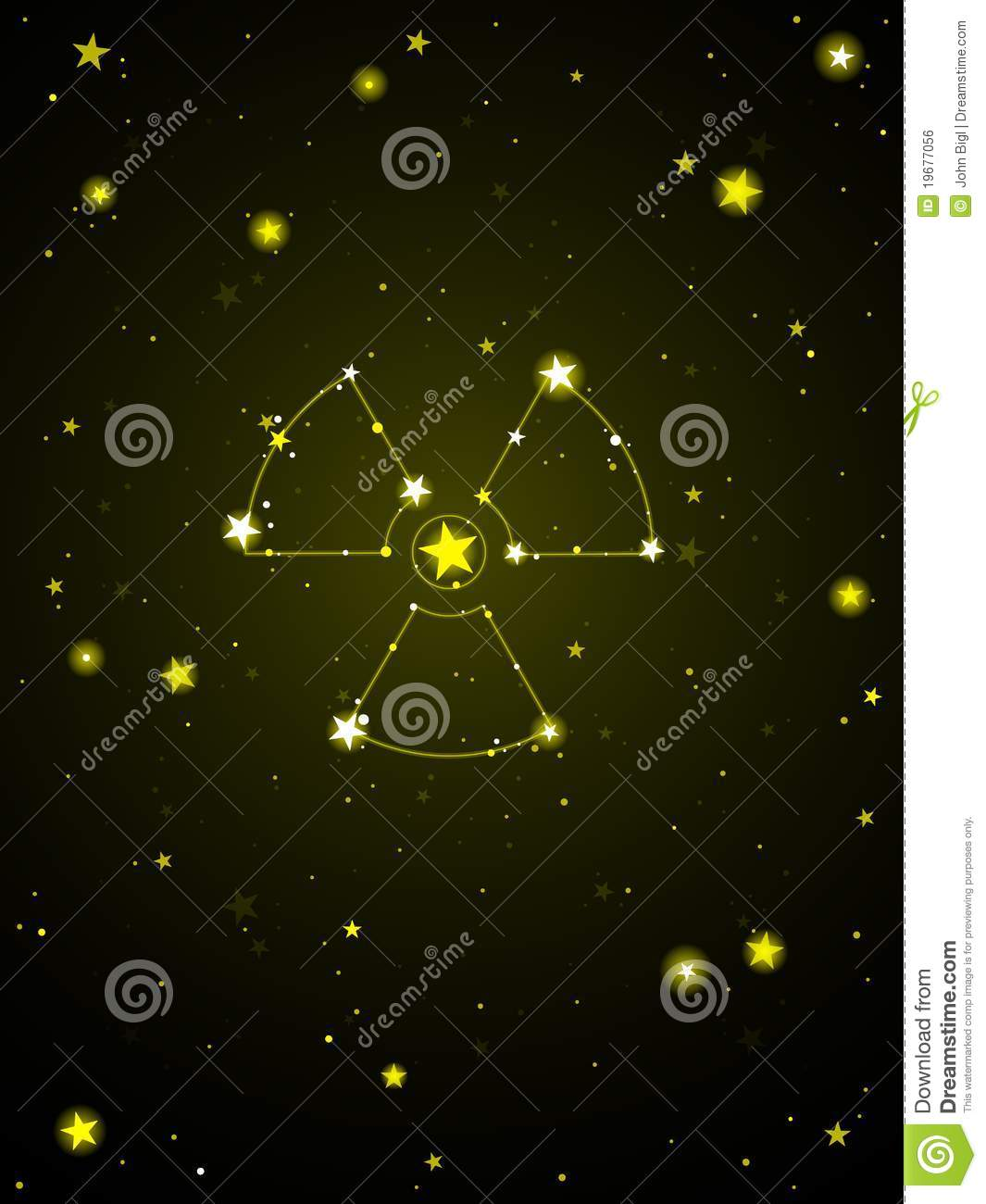 Radiation From Space Stock Vector Illustration Of Galaxy