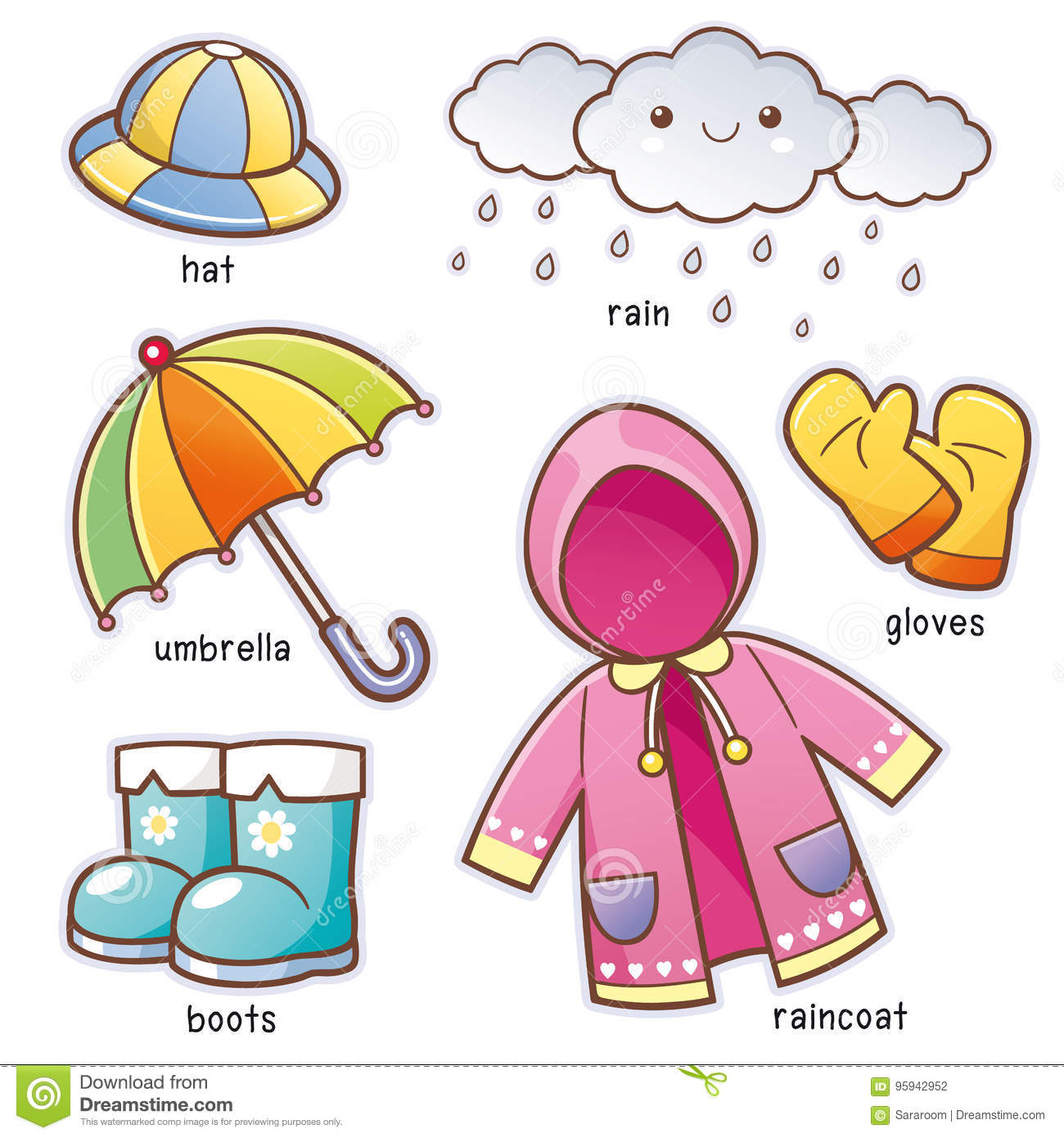 Rain Cartoons Illustrations Amp Vector Stock Images