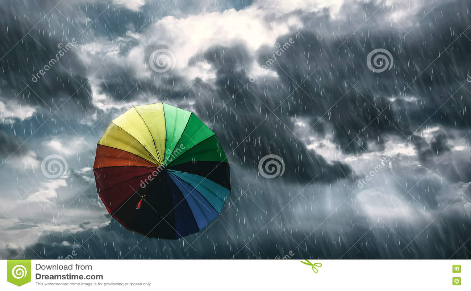 Rain Rain Go Away Stock Image Image Of Flying Rain