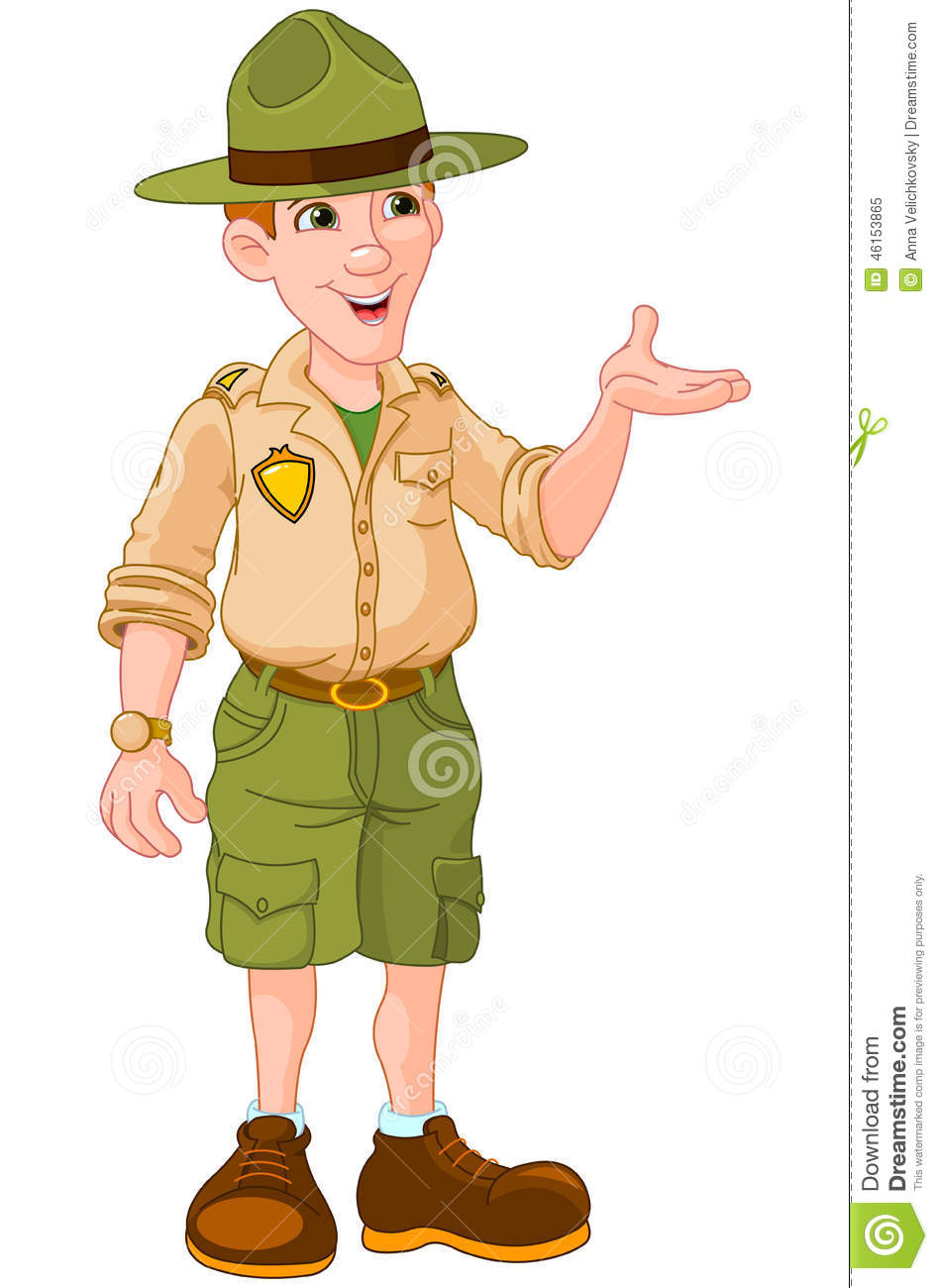 Uniform Park Costume Ranger