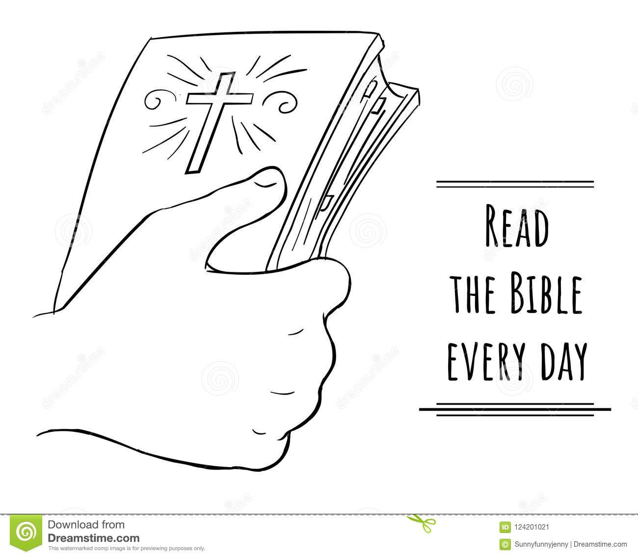 Bible Coloring Stock Illustrations 741 Bible Coloring Stock Illustrations Vectors Clipart Dreamstime