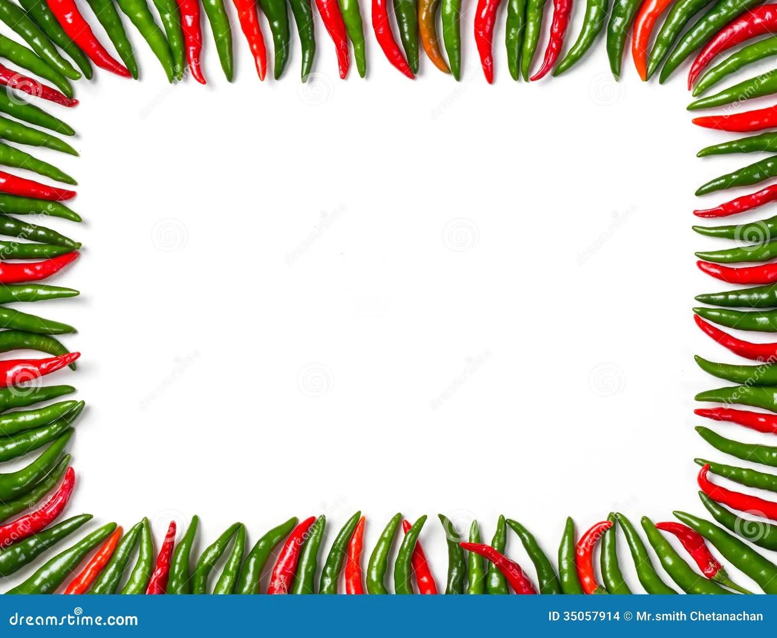 Chili Beans Clip Art Borders