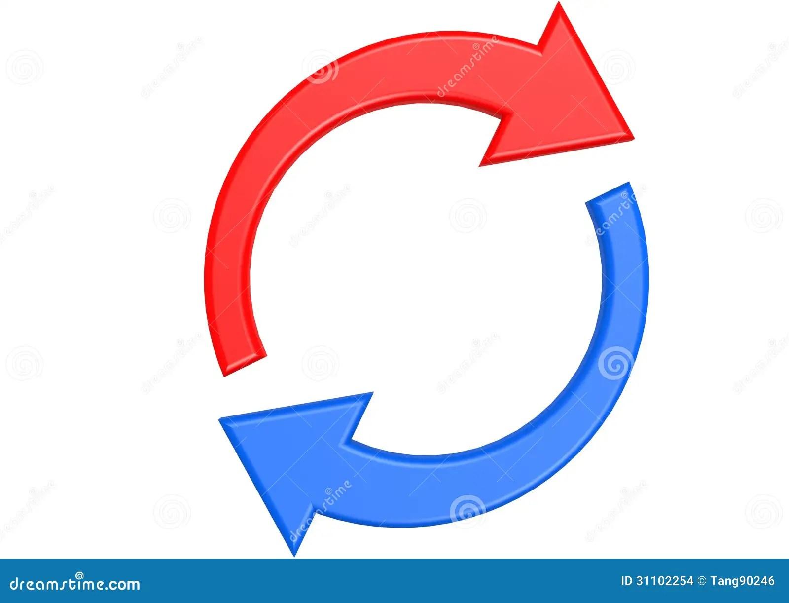 Chart Down Arrow Icon White