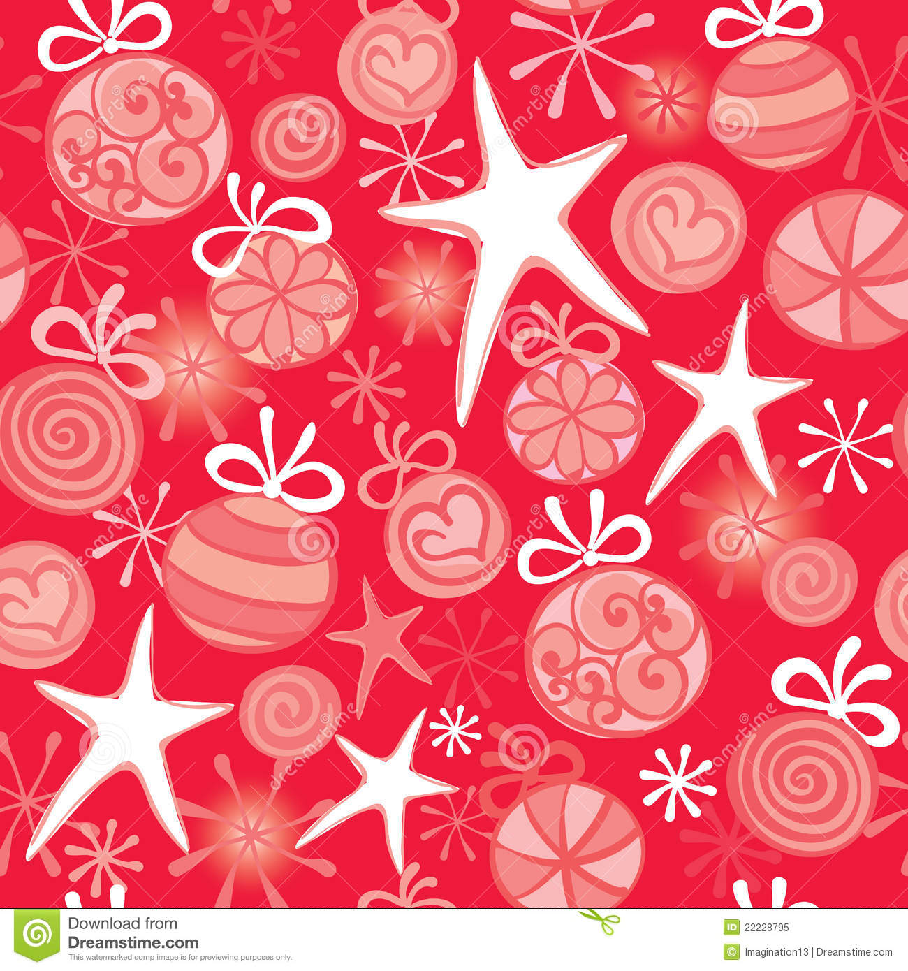 Red Christmas Wrapping Royalty Free Stock Photo Image