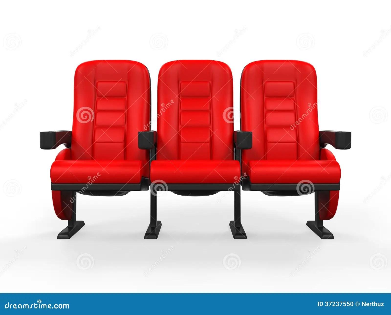 Red Theater Seat Stock Illustration Illustration Of Dark 37237550