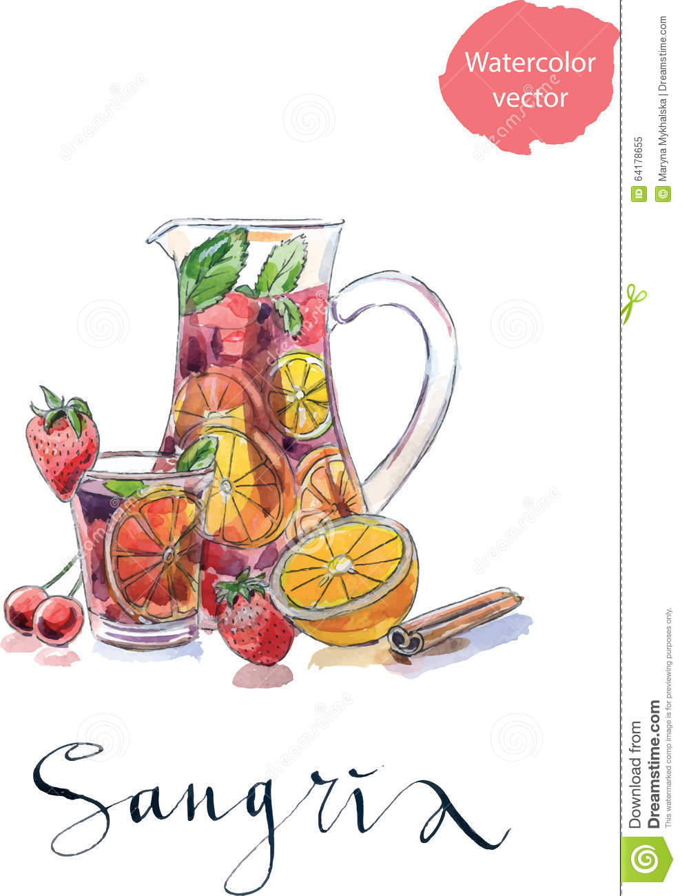 Sangria Cartoons Illustrations Amp Vector Stock Images