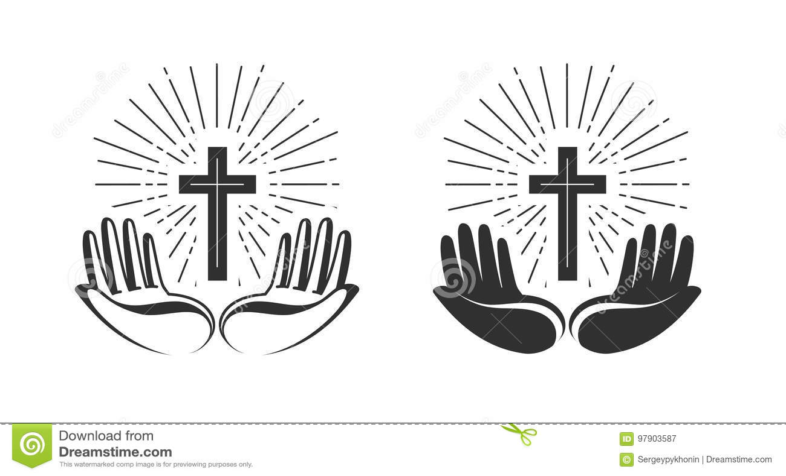 Pray Stock Illustrations 31 442 Pray Stock Illustrations