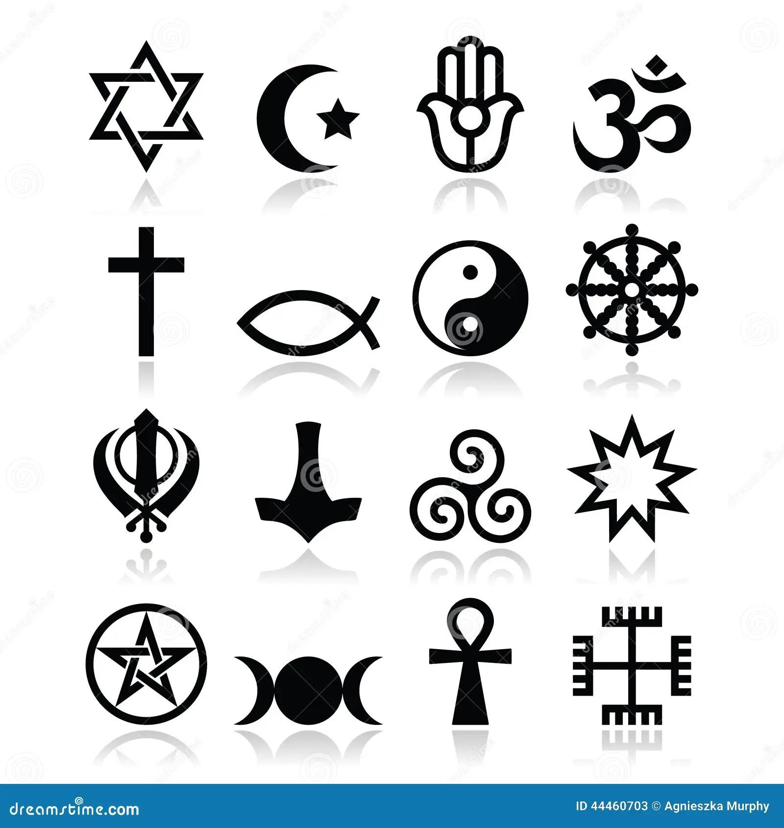 Religion Of The World Symbols