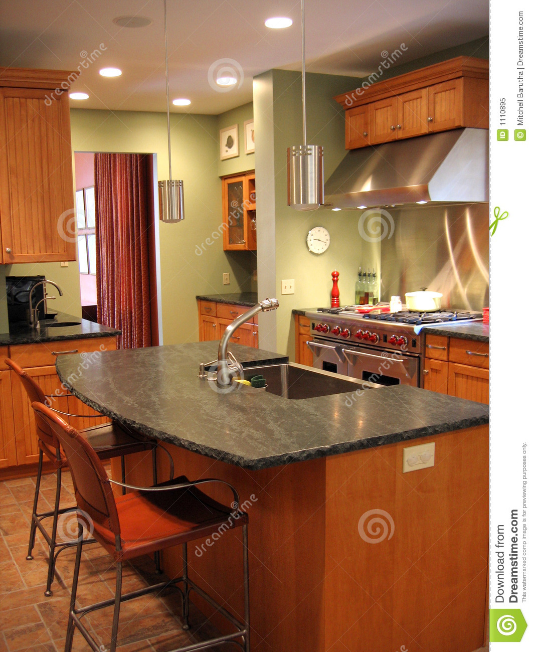 Remodeled Kitchen Royalty Free Stock Photo Image 1110895