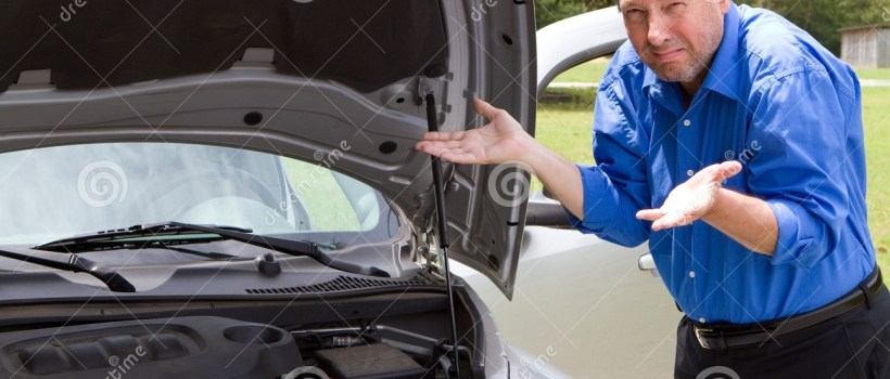 Repair Broken Car Stock Image Image Of Broke