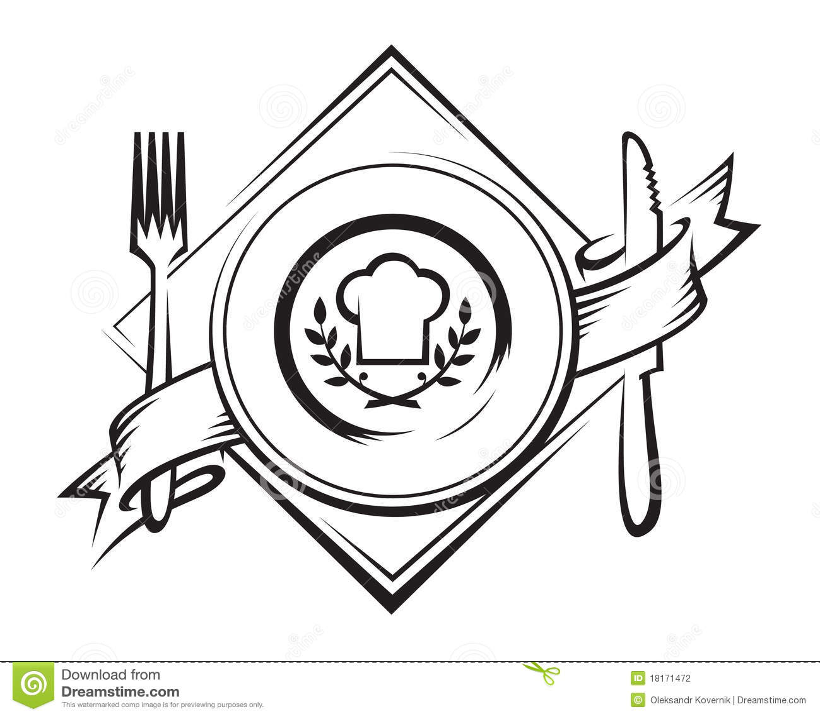 Restaurant Icon Stock Vector Illustration Of Design