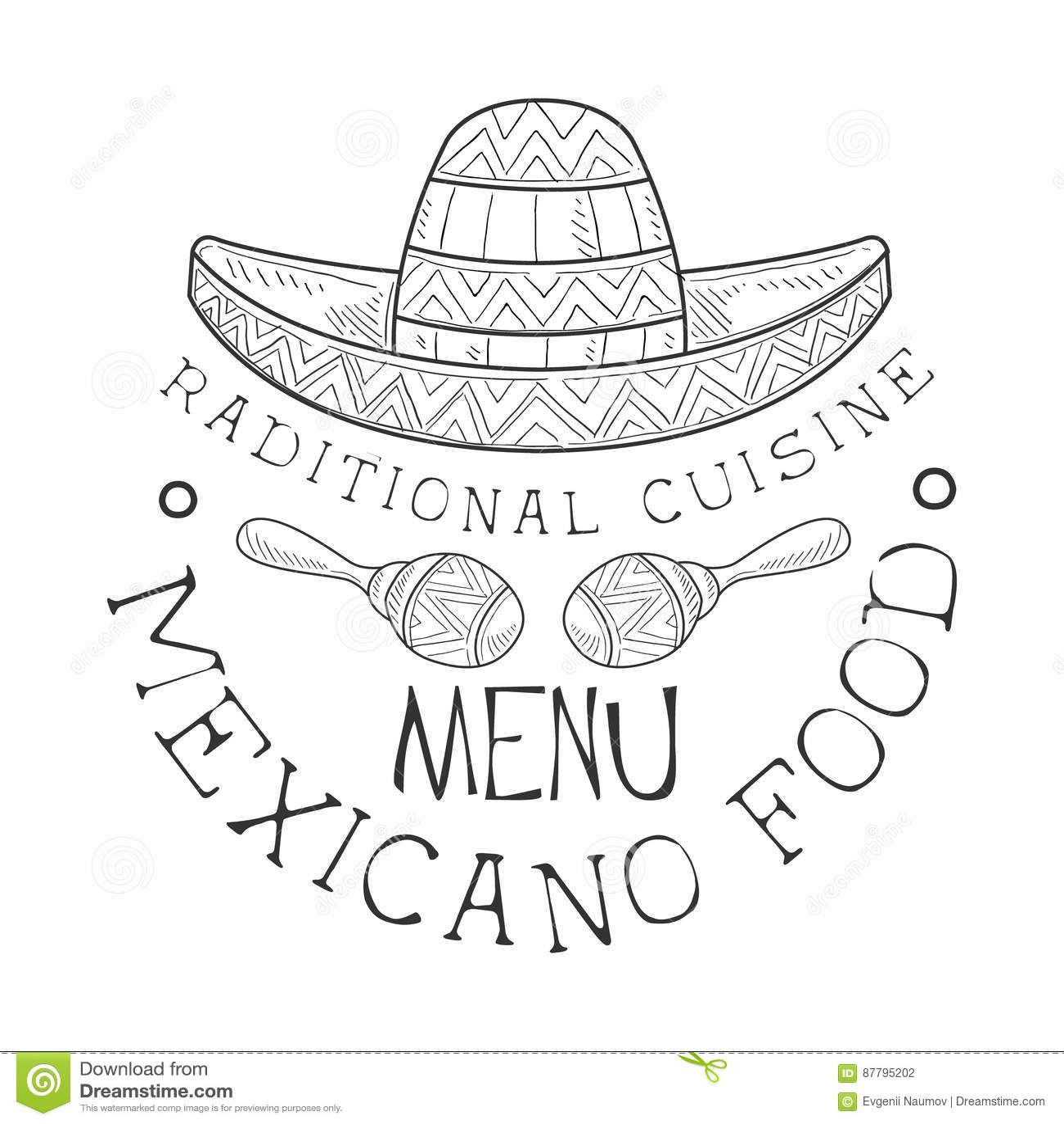 Sombrero Mexicano Cartoons Illustrations Amp Vector Stock