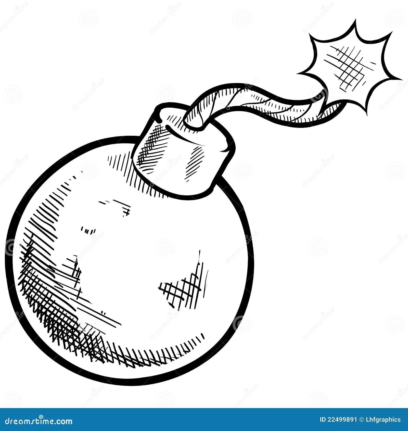 Retro Drawing Stock Image
