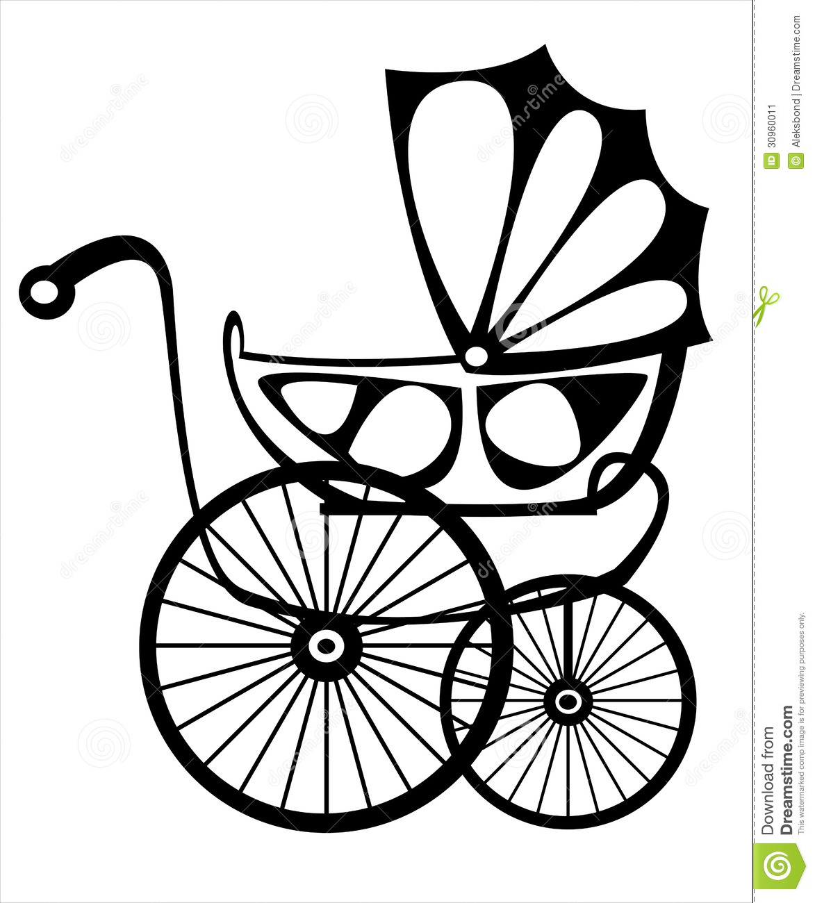 Retro Buggy On White Stock Vector Illustration Of Cute