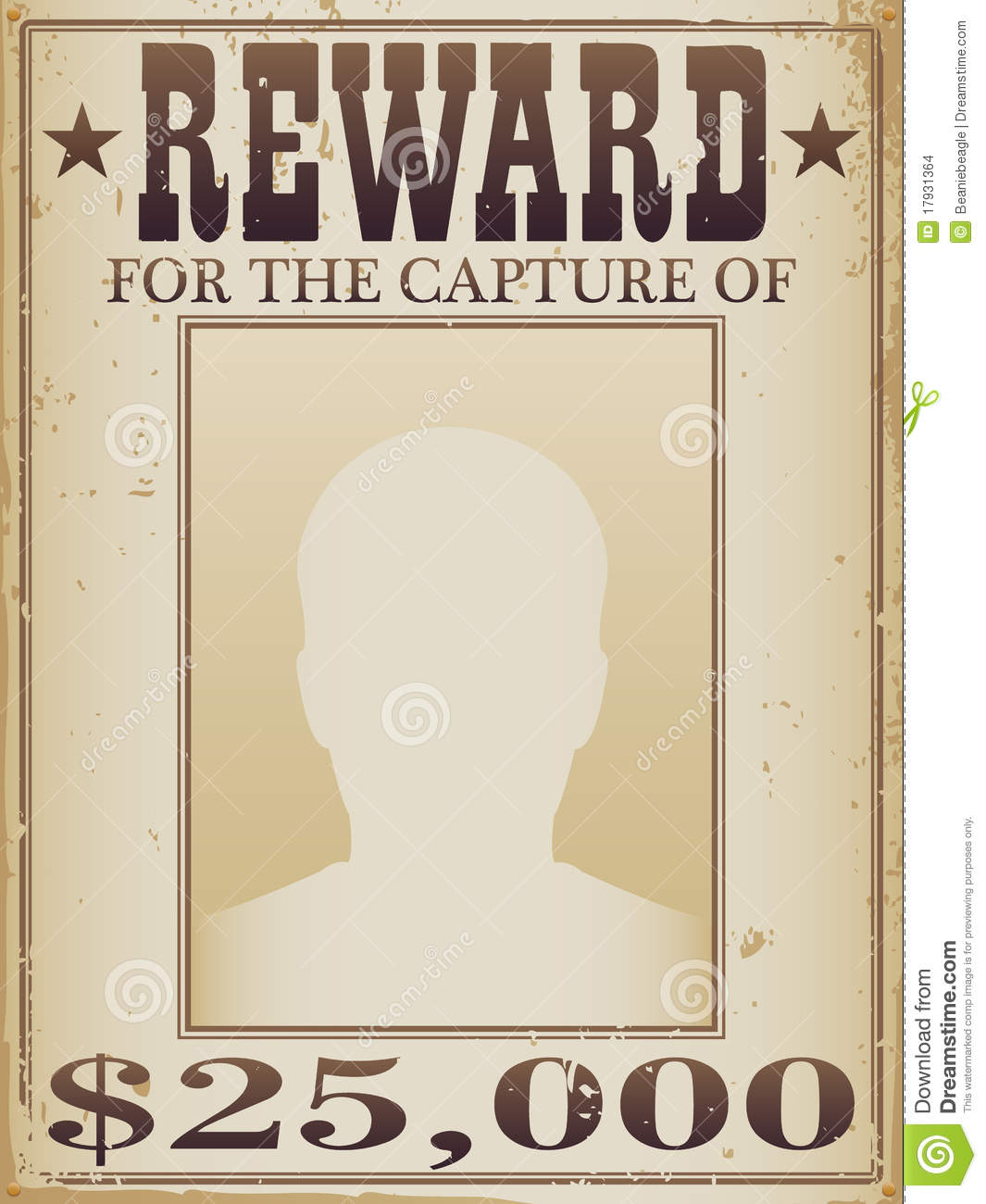Wanted Signs Template displaying 18 gt images for authentic – Reward Posters Template