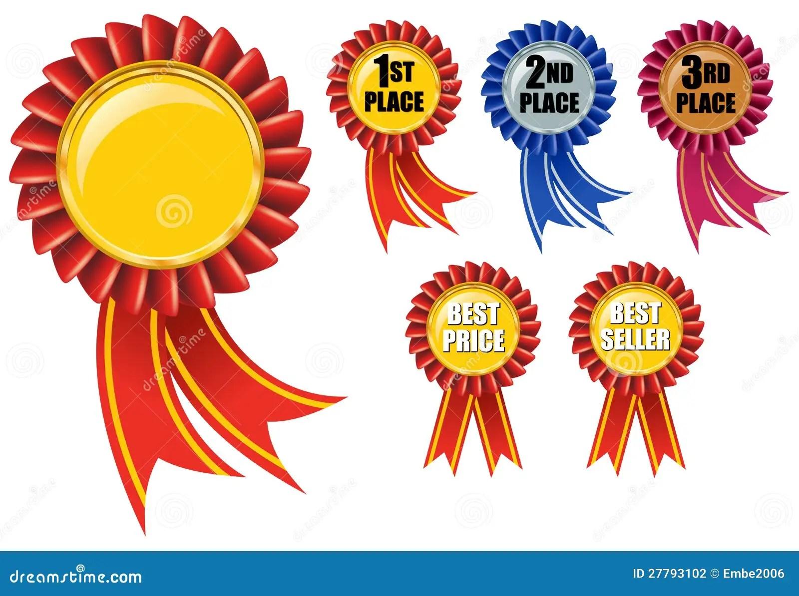 Ribbon Award Stock Vector Illustration Of Label Medal