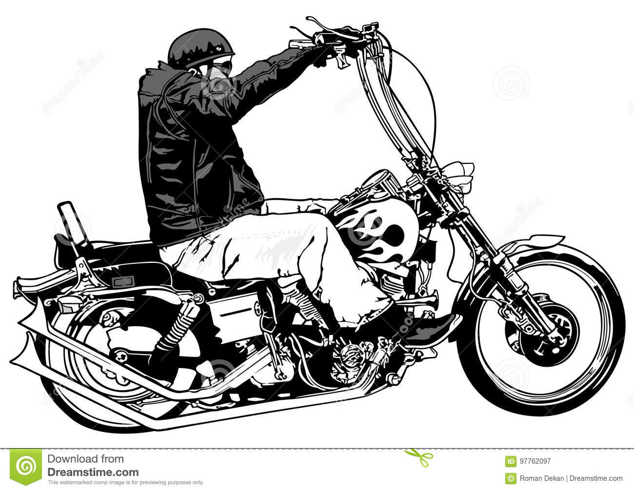 Chopper Stock Illustrations 11 354 Chopper Stock
